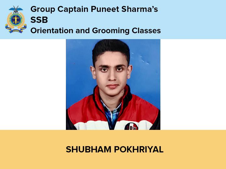 Shubham Pokhriyal