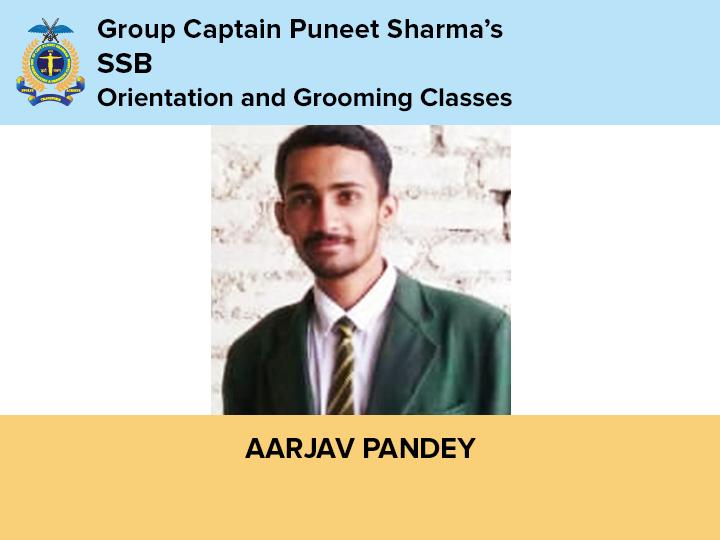 Aarjav Pandey