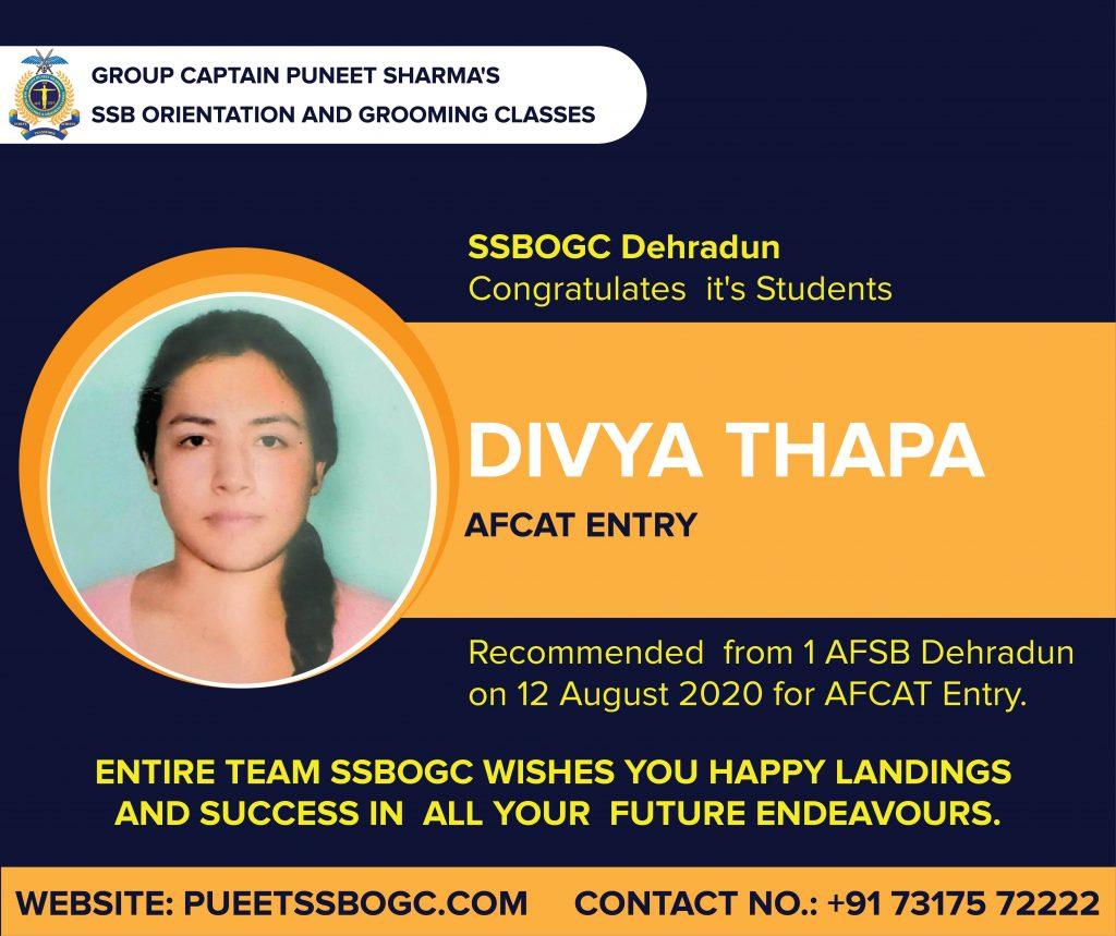 Divya Thapa