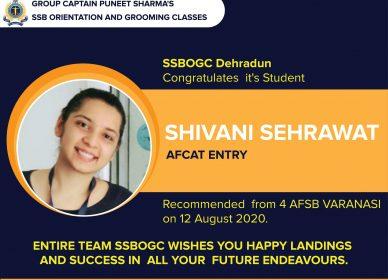 SHIVANI SEHRAWAT