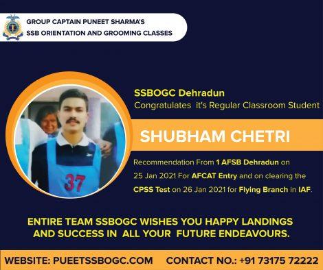 SHUBHAM CHETRI